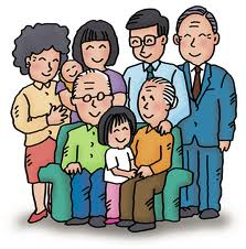 La famille – The family – Vocabulaire Anglais