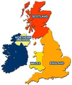 Carte Angleterre En Anglais.L Angleterre La Grande Bretagne Le Royaume Uni Les Iles