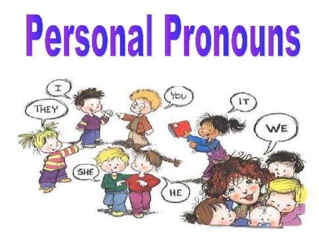 Les pronoms personnels en anglais – Rappel de grammaire