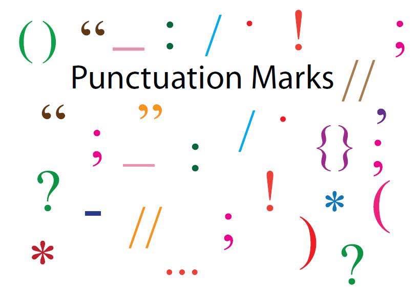 Signes de ponctuation en anglais et en français – Punctuation Marks