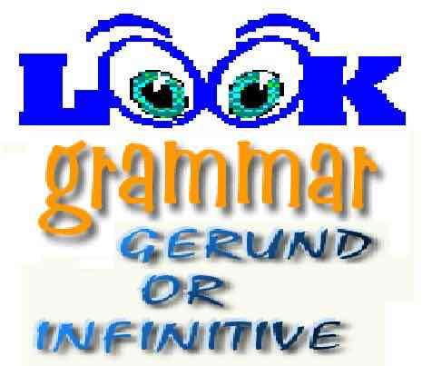 L'INFINITIF et le GERONDIF en anglais – Grammaire anglaise