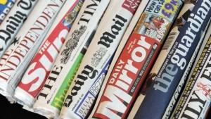 journaux anglais