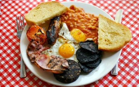 Le petit déjeuner anglais – English breakfast