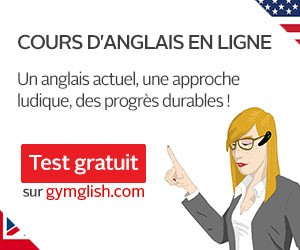 apprendre anglais en ligne avec gymglish