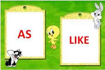 Exprimer la comparaison en anglais : As et Like – Quelle est la différence?