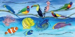 Vocabulaire anglais – Les animaux du ciel et de la mer : Birds and Fish