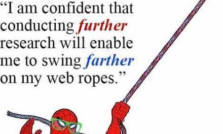"""La différence entre """"Farther"""" et """"Further"""" en anglais."""